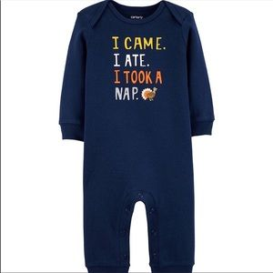 Carter's® Baby Thanksgiving Jumpsuit newborn